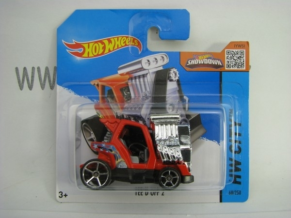 Hot Wheels 2015 Tee D Off 2 HW City CFG85
